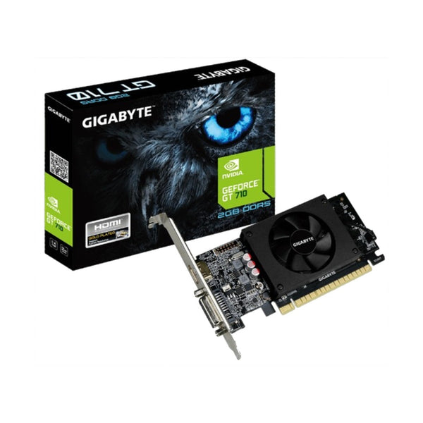Gigabyte GeForce GT 710 2GB Graphics Card GV-N710D5-2GL