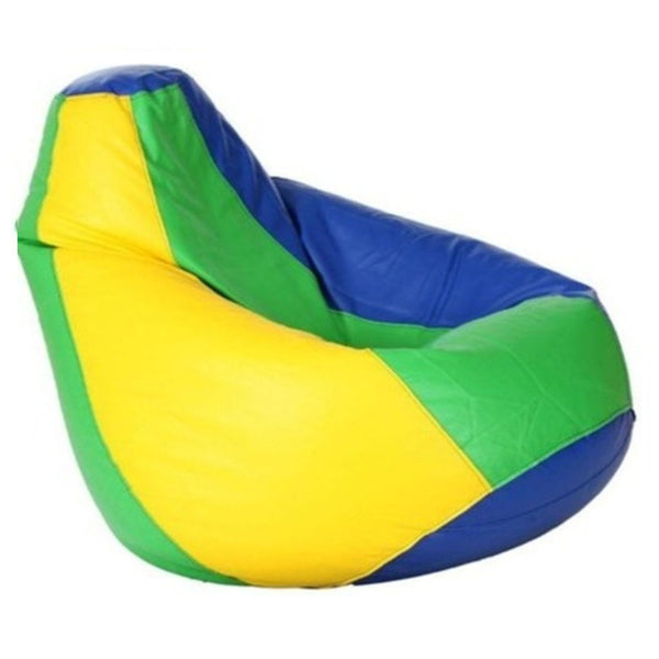 UDF Bean Bag With Beans (Blue Parrot Green and Yellow)