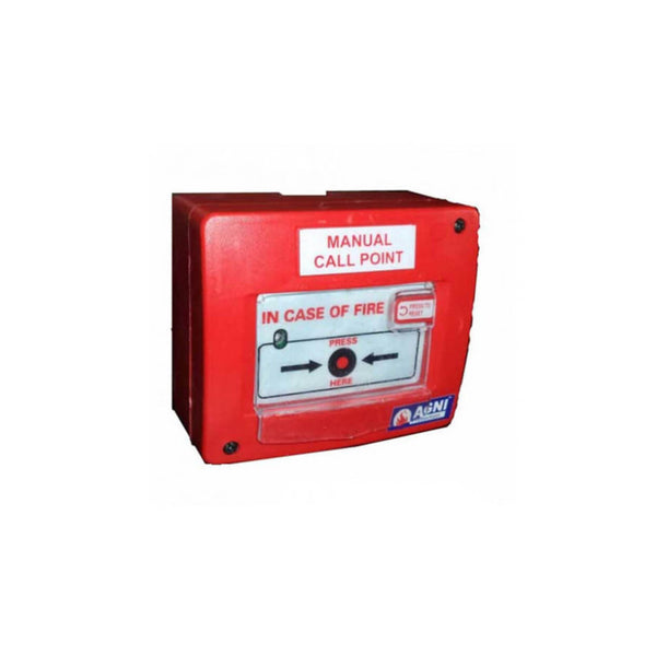 Agni Manual Call Point 24 V DC with Chain Hammer (M.S)