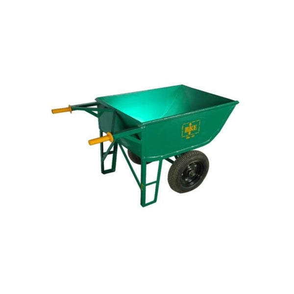 BKE 16G Heavy Type Double Wheel Barrow With  Scooter Tyre W1