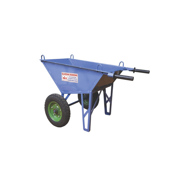 BKE 16G Double Wheel Barrow With Loading Hook W4