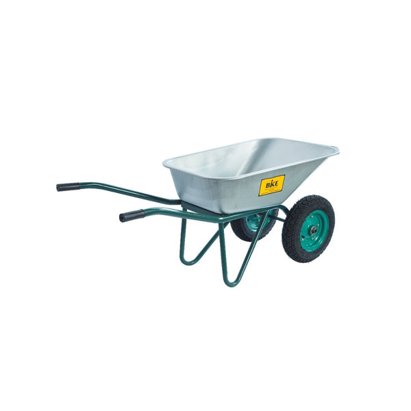 BKE Alloy Double Wheel barrow W5
