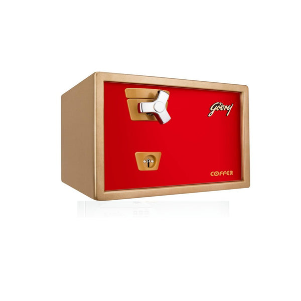 Godrej Premium Coffer V1 Red Locker 21L