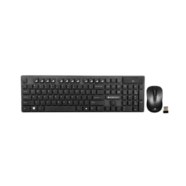 Zebronics Companion 102 Wireless Keyboard and Mouse Combo