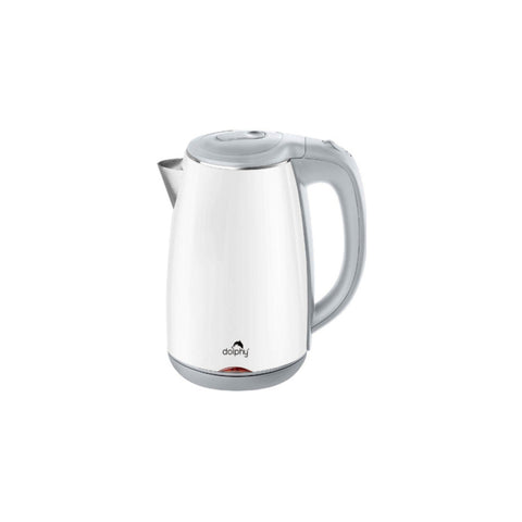 Dolphy 1.2 Litre 1500-1800W Electric Kettle DKTL0028