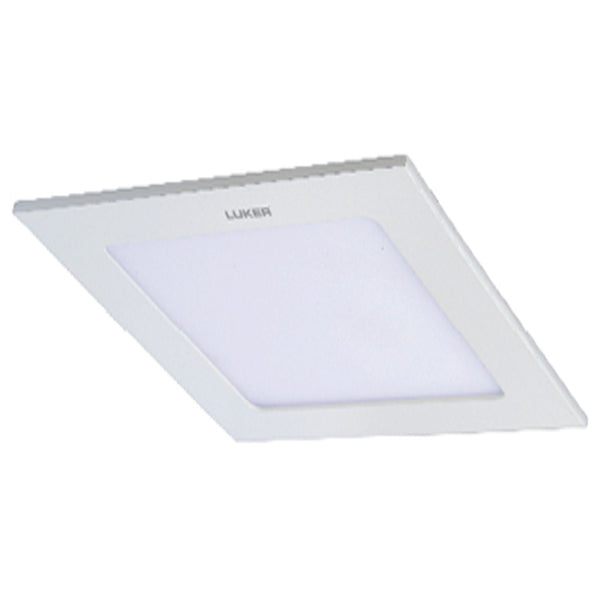 Luker Elegant Series LED Slim Panel Light 6W Square White LNPS06