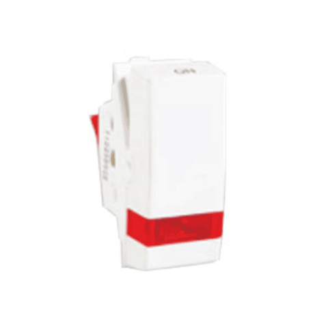 Havells Standard Irene 16AX 1-Way Switch Indicator ASISXIW161