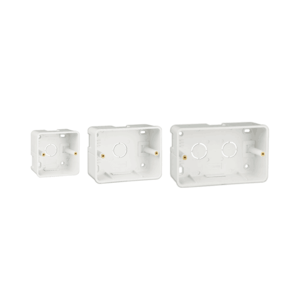 Havells Crabtree Surface Mounting Plastic Boxes for Athena & Verona
