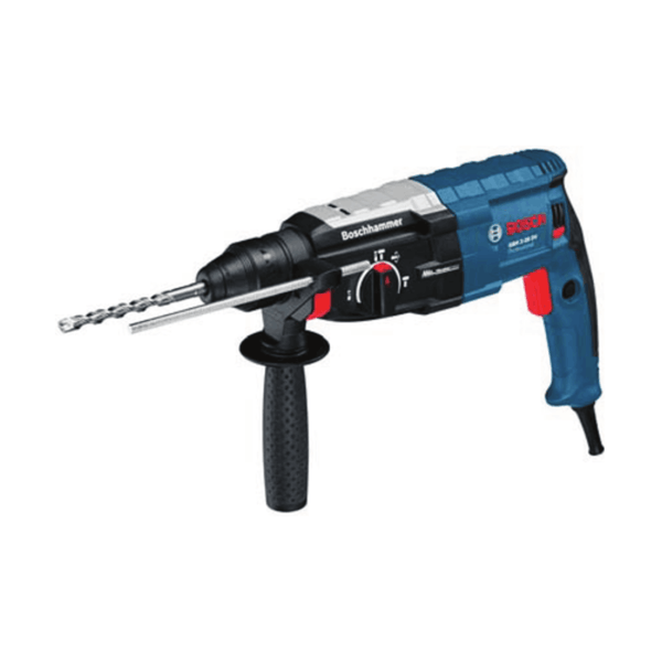 Bosch Rotary Hammer with SDS-plus GBH 2-28 DV (820 W, 2.9 Kg, 0 – 1300 rpm)