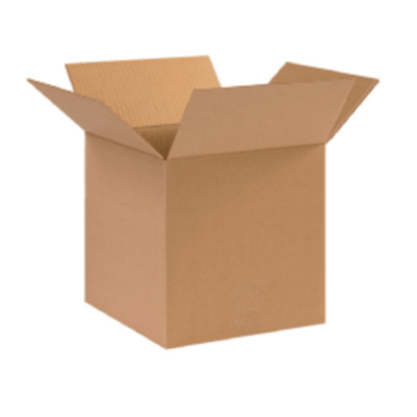 Corrugated Box – 10x10x10 inch, 230 GSM (Pack of 50 Nos)