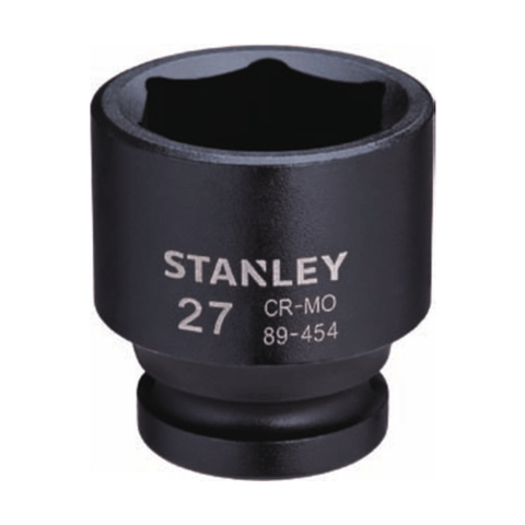 Stanley 6 Point 1⁄2 Drive Metric Impact Socket