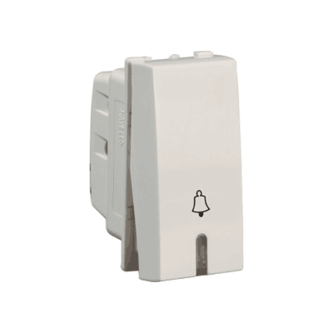 Havells Modular Oro 10 Ax / 6Ax Bell Push Switch with Indicator AHOSBIW060 / 100