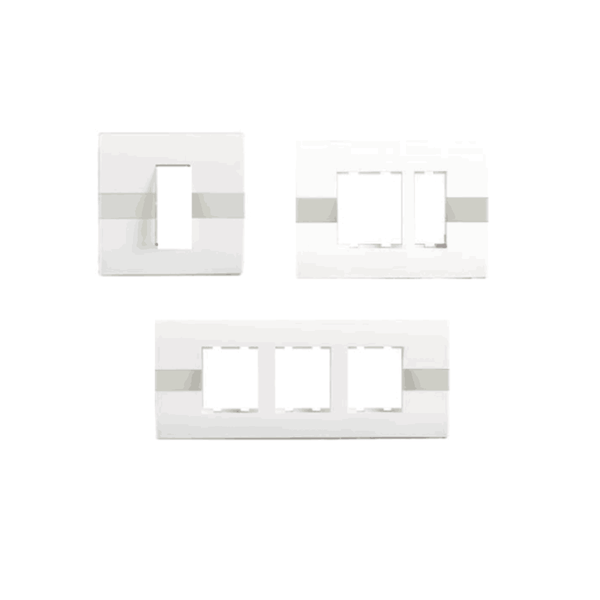 Havells Standard Irene White – Stripes Front Plate