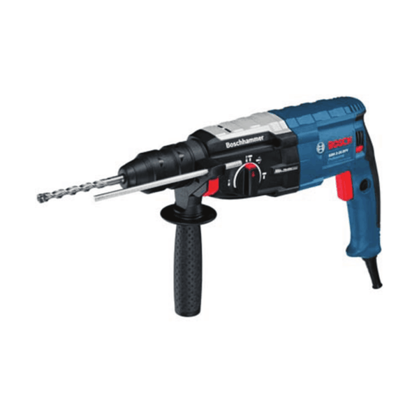 Bosch Rotary Hammer with SDS-plus GBH 2-28 DFV (820 W, 3.1 Kg, 0 – 1300 rpm)
