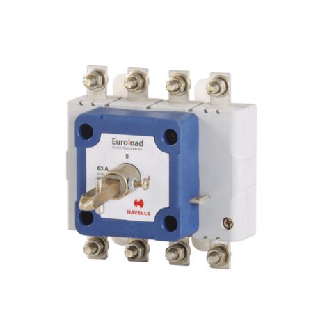 Havells Euroload Switch Disconnector Size (00) 4 Pole OE 40A – 100A