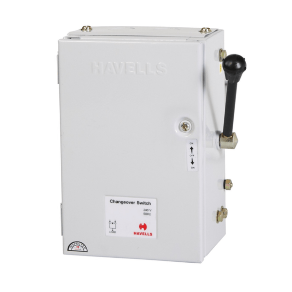 Havells Load Changeover Switch Double Pole Onload Changeover Switch 32A – 63A