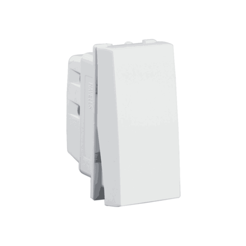 Havells Modular Oro 6A / 10A 1 Way Switch AHOSXXW061 / 101