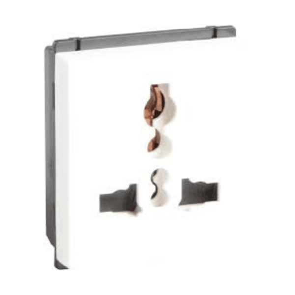 Havells Crabtree Murano 6/13 A Universal Shuttered Socket ACMKUXW133