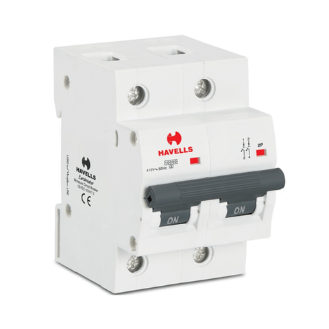 Havells Higher Rating MCB (80 to 125A) C Series DP