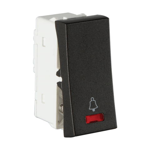Havells Crabtree Athena 6A Bell Push with Indicator ACASBIG061