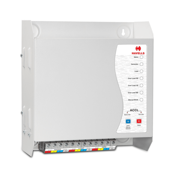 Havells TPN ACCL (TPN/TPN) (Automatic Source Changeover with Current Limiter)