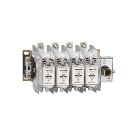 Havells Kompact Ezo Switch Disconnector Fuse Unit 4 Fuse, 4 Pole With SS Enclosure 160A – 800A