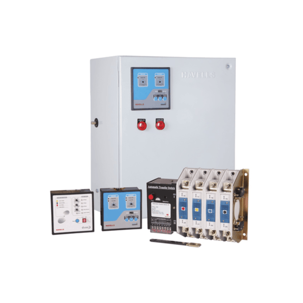 Havells Instaline Automatic Transfer Switch 3 Pole With Enclosure  400A – 630A With Primary Protection
