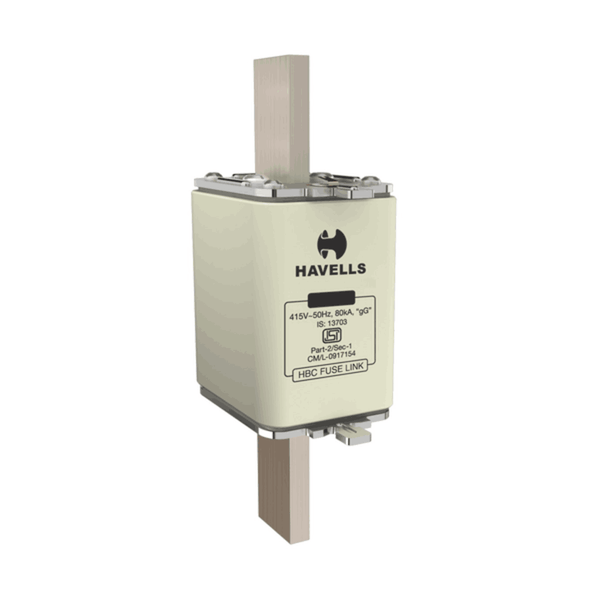 Havells Hibreak Fuse Base Din (FIXED Type) Open Type Fuse Base 100A – 160A CD-00
