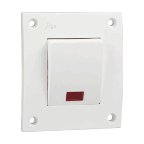 Havells Reo 32A DP One Way Switch - AHESDIW321