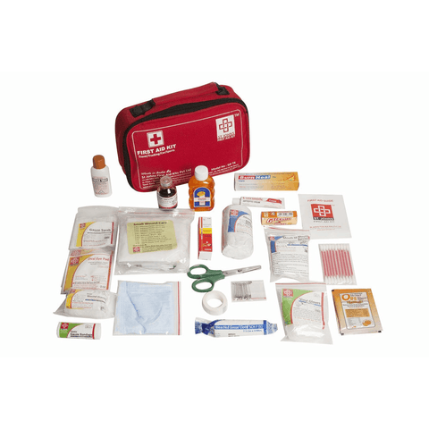 St.John's Travel First Aid Kit Large - Nylon Pouch -77 Components SJF T4