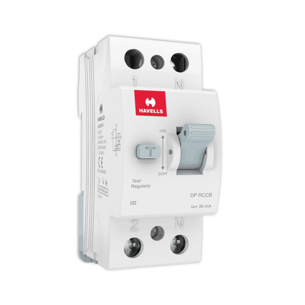 Havells RCCB – AC Type DP 30mA