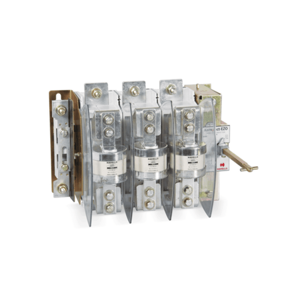 Havells Kompact Plus Switch Disconnector Fuse Unit 3 Fuse, 3 Pole & Neutral With SS Enclosure  32A – 125A