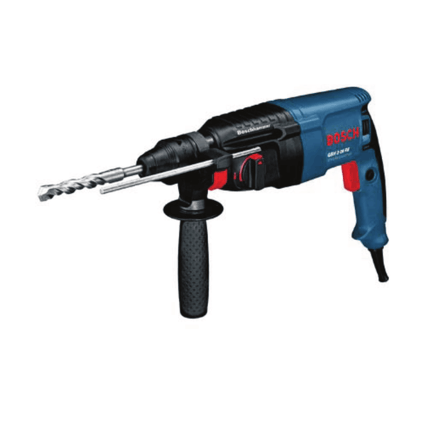 Bosch Rotary Hammer with SDS-plus GBH 2-26 RE (800 W, 2.7 Kg, 0 – 900 rpm)