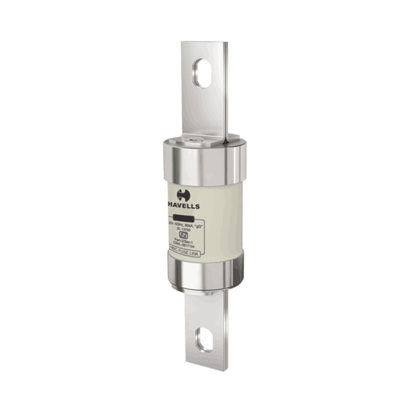 Havells Hibreak HBC Fuse Link (BOLTED Type) F-1 IS Size (F-1) Offset 2A – 32A 415V 80kA