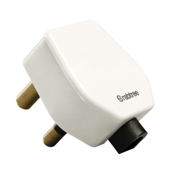 Havells Crabtree Athena 16 A 3 Pin Plug ACAGXXW163