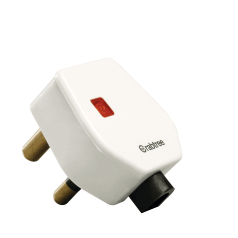 Havells Crabtree Thames 6 A 3 Pin Plug with Indicator ACTGWIW063