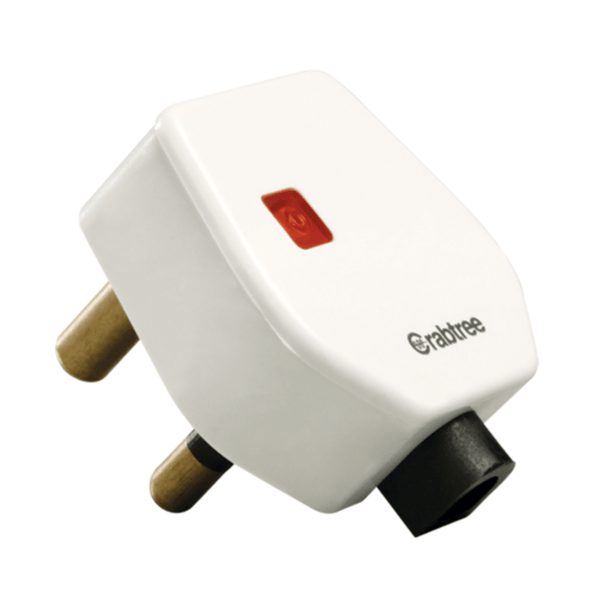 Havells Crabtree Thames 16 A 3 Pin Plug with Indicator ACTGWIW163