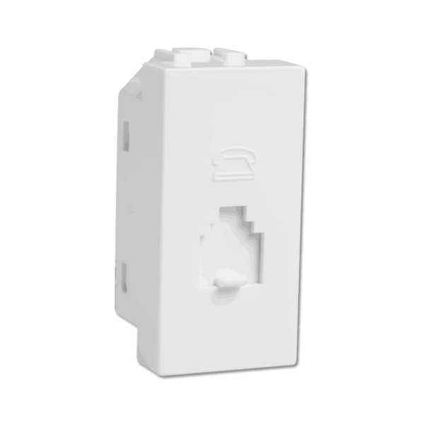 Havells Modular Coral Telephone Socket AHLKHWW000