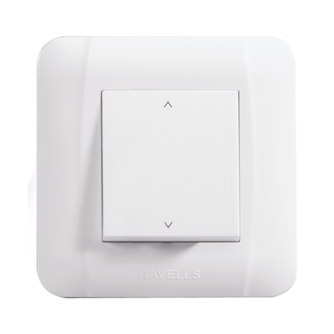 Havells Modular Oro 10A 2 Way Switch (Mega) AHOMXXW102