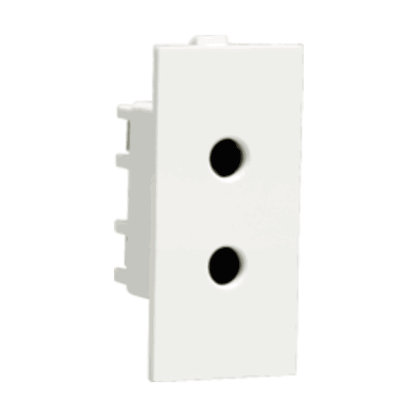 Havells Crabtree Athena 6A 2 Pin Shuttered Socket ACAKSXW062
