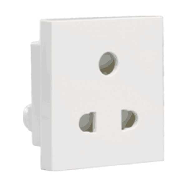 Havells Crabtree Athena 6A 3 Pin Shuttered Socket ACAKPXW063