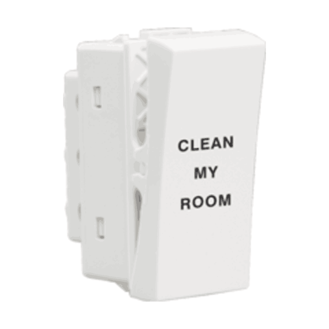 Havells Crabtree Athena Clean My Room Switch ACASCXW101