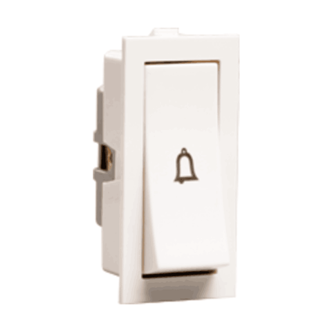Havells Crabtree Thames 10 Ax Bell Push Switch ACTSBXW100