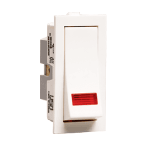 Havells Crabtree Thames 16 A One-Way Switch with Indicator ACTSXIW161