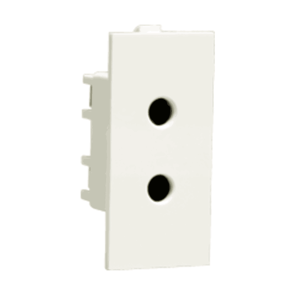 Havells Crabtree Thames 6 A 2 Pin Shuttered Socket ACTKSXW062