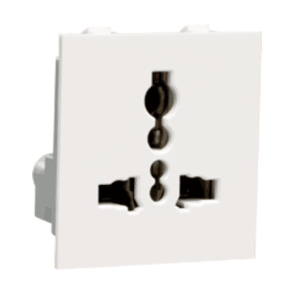 Havells Crabtree Thames 6-13A Universal Shuttered Socket ACTKUXW130