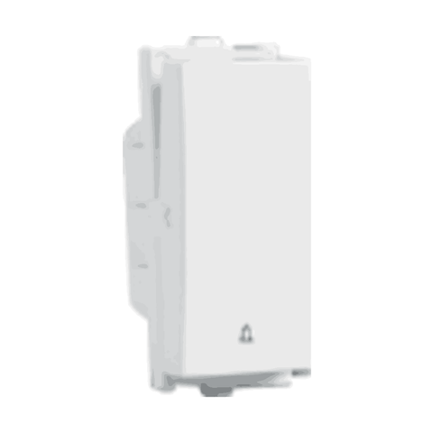 Havells Crabtree Verona Switch 10A 1 Way Bell Push ACVSBXW101