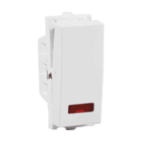 Havells Crabtree Verona Switch 10A 1 Way with Indicator ACVSXIW101