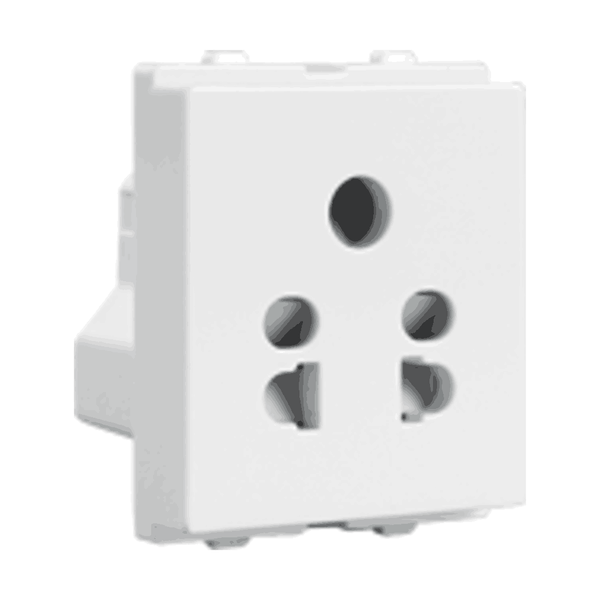 Havells Crabtree Verona 6A 5 Pin Shuttered Socket ACVKSWW065