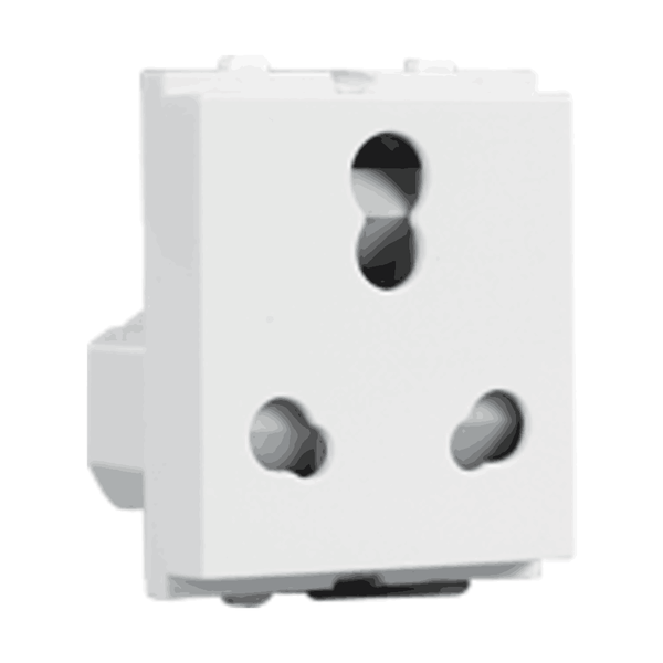 Havells Crabtree Verona 6/16A 3Pin Combined Shuttered Socket ACVKCWW163